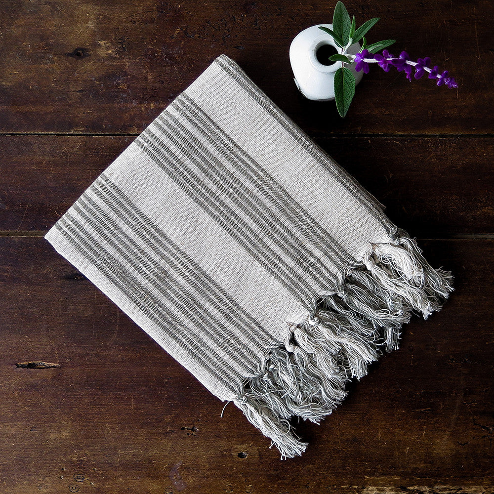 daphne turkish cotton + linen towel