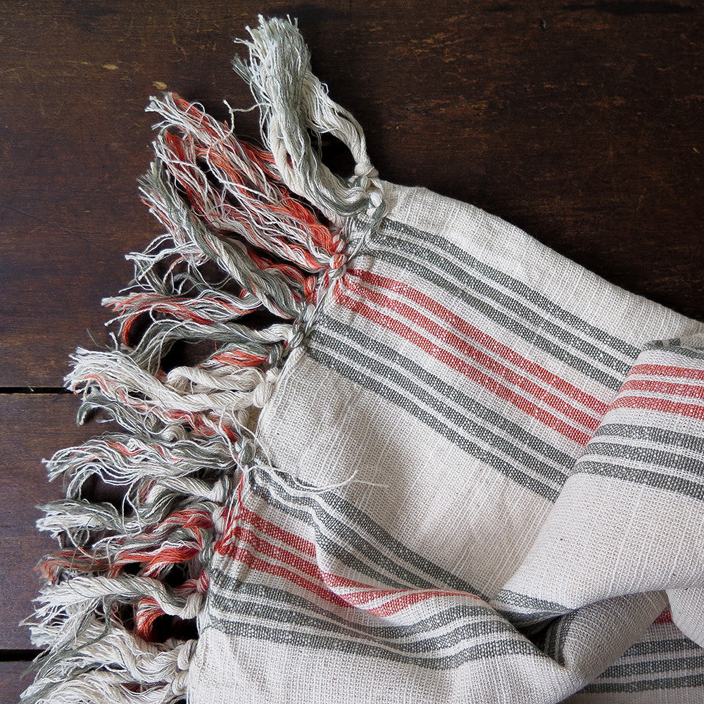 jasmin turkish cotton + linen towel