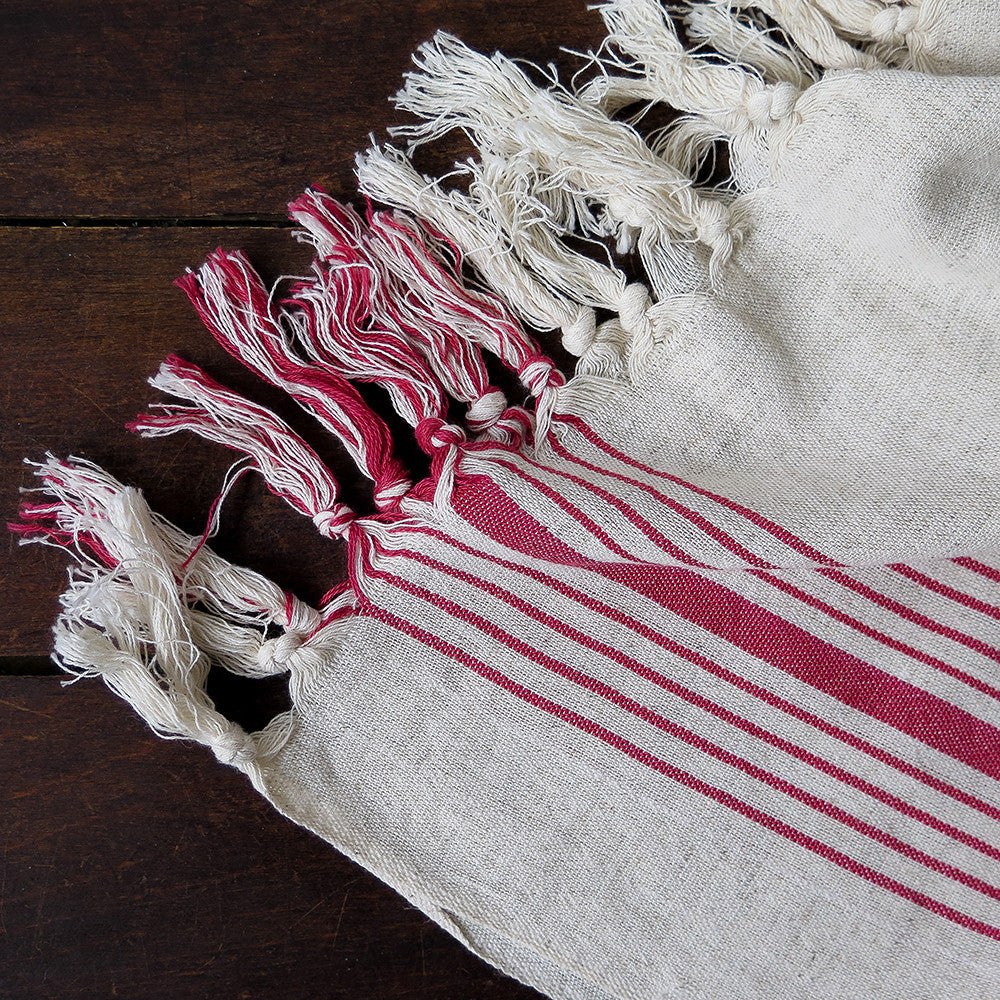 milkway turkish cotton + linen towel