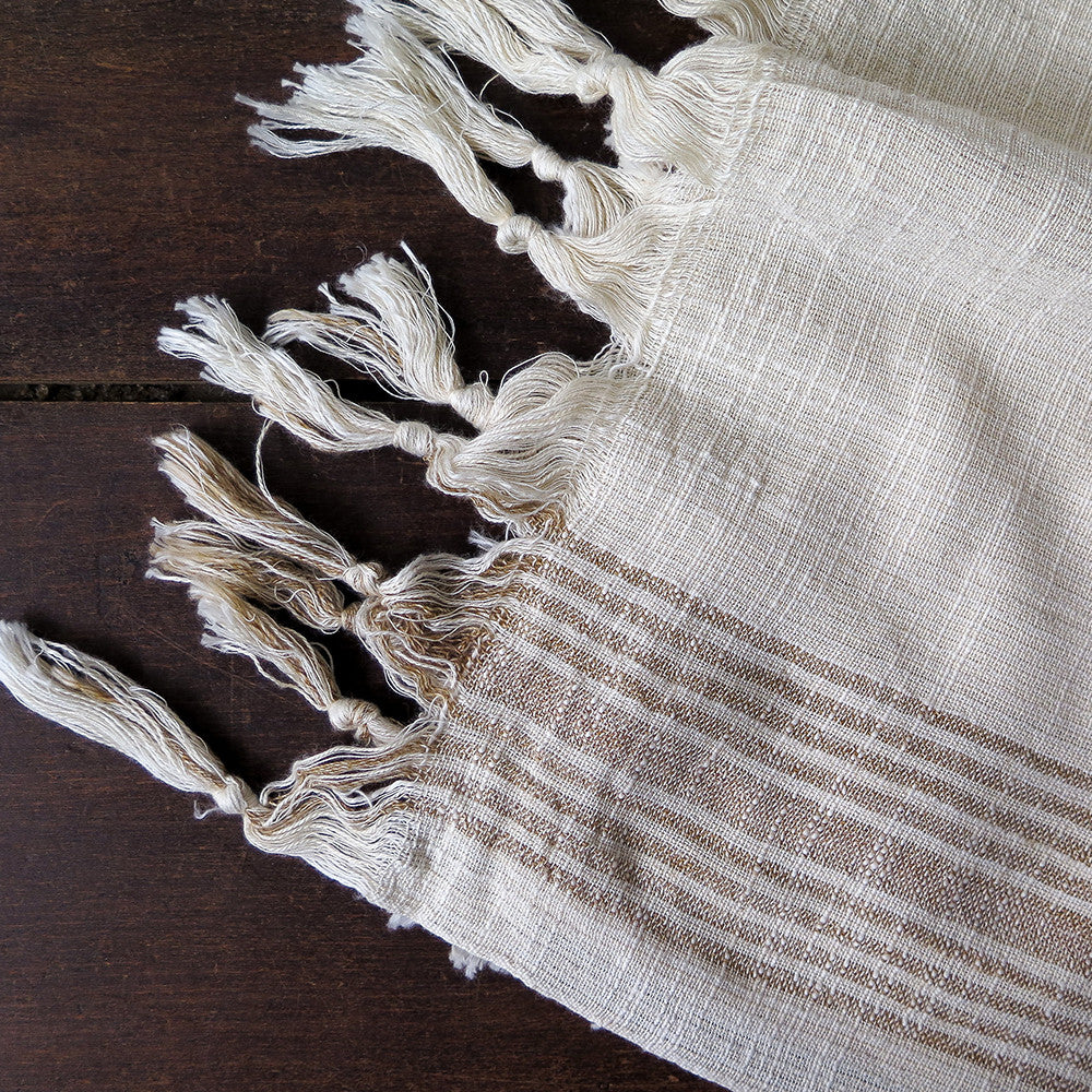 tortum turkish cotton + linen towel