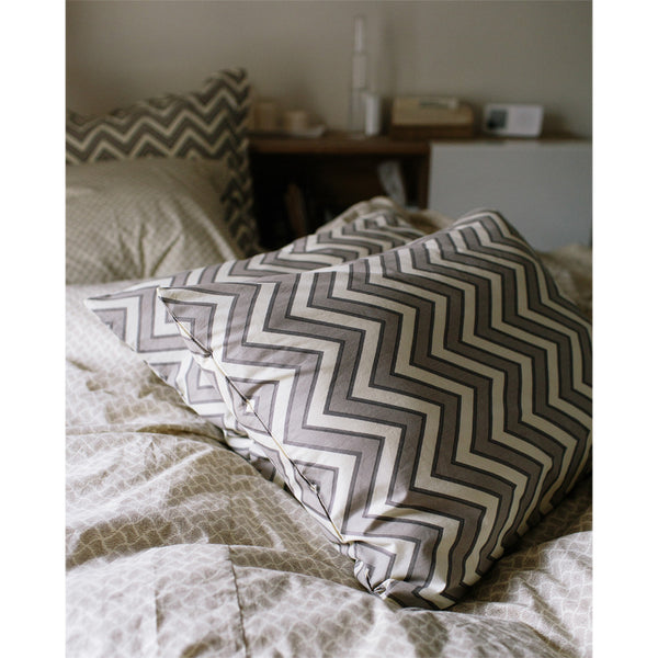 zigzag pillowcases