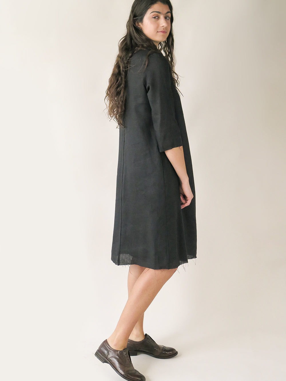 rye dress in black