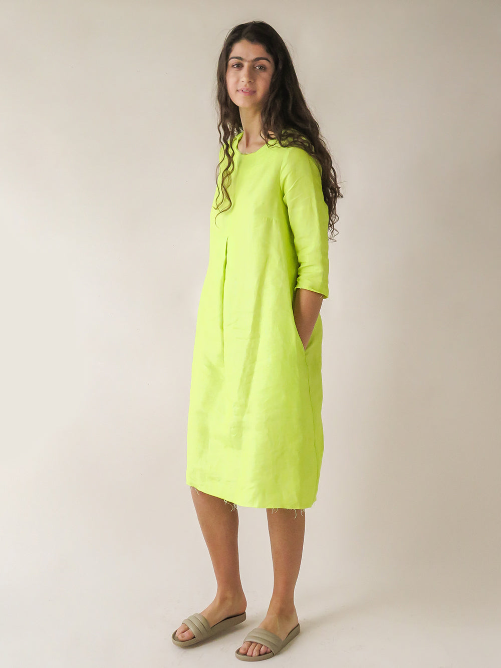 rye dress in fluo
