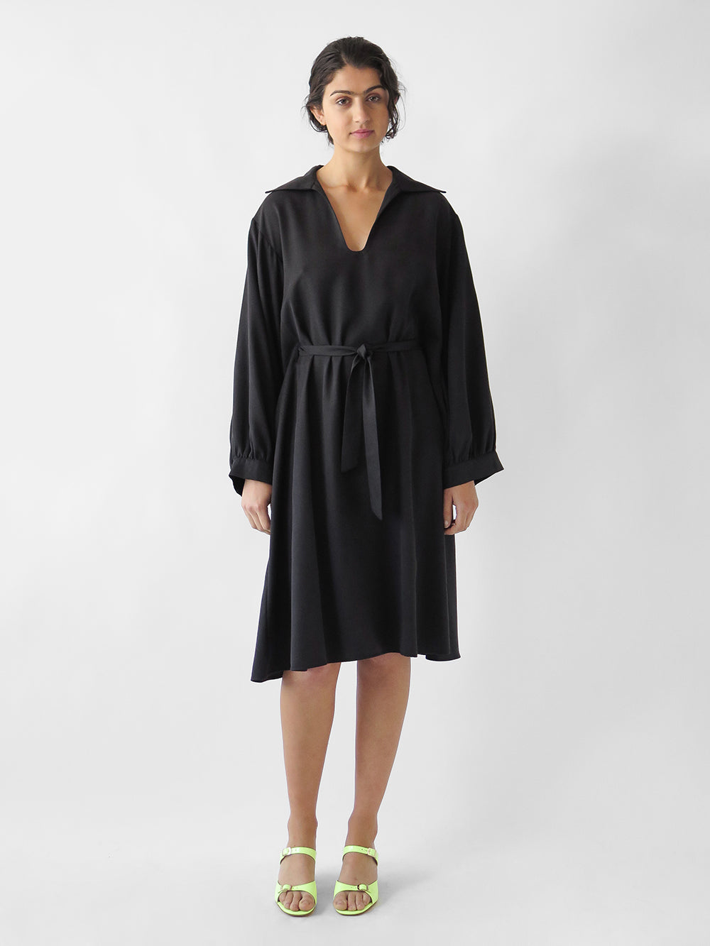 shaina mote novella dress in onyx