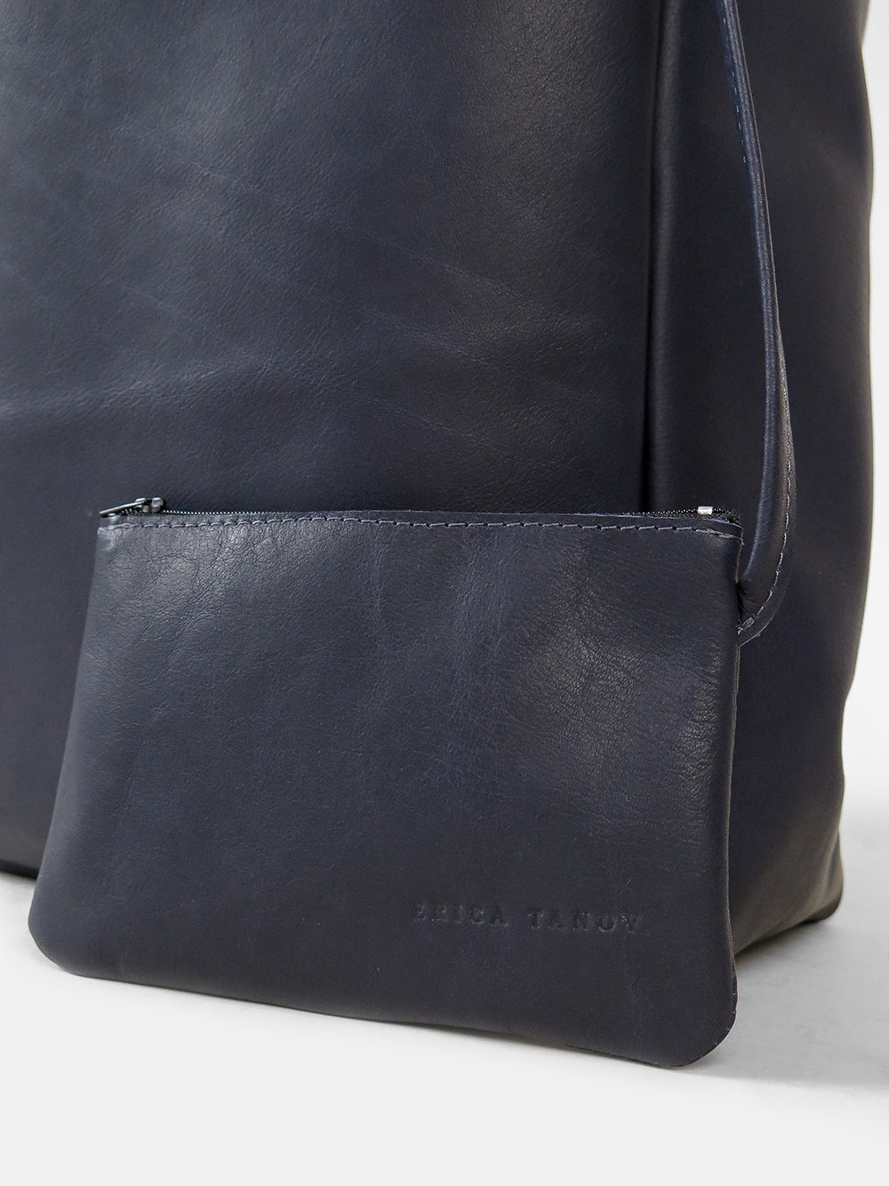 eve tote in navy