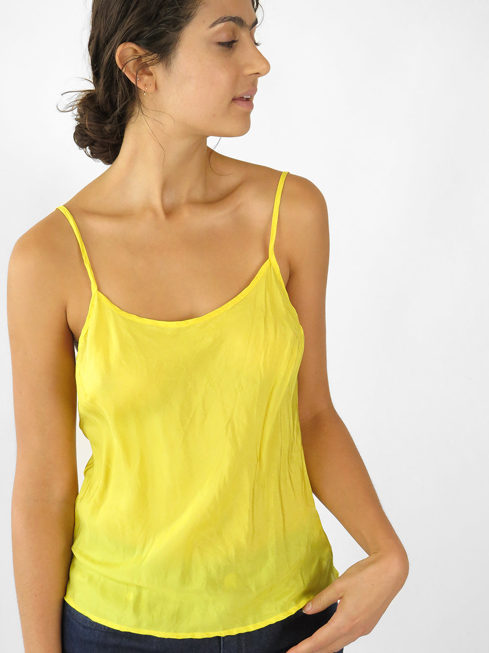 simone camisole in sunflower