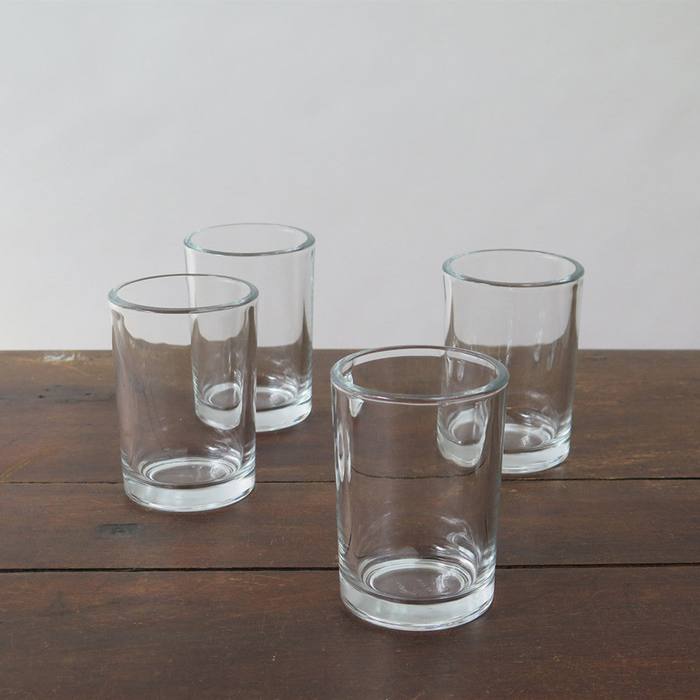 simple glass tumbler