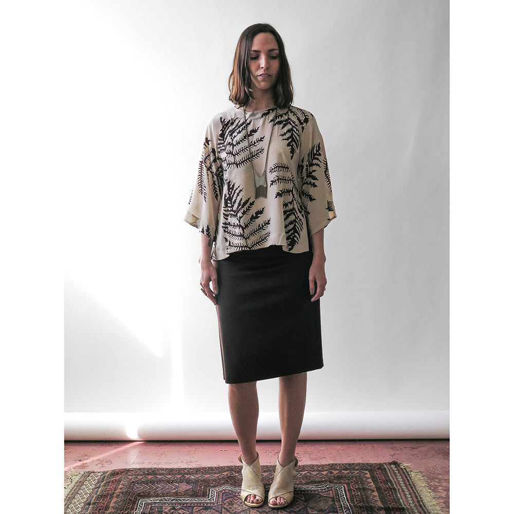 smith cashmere skirt