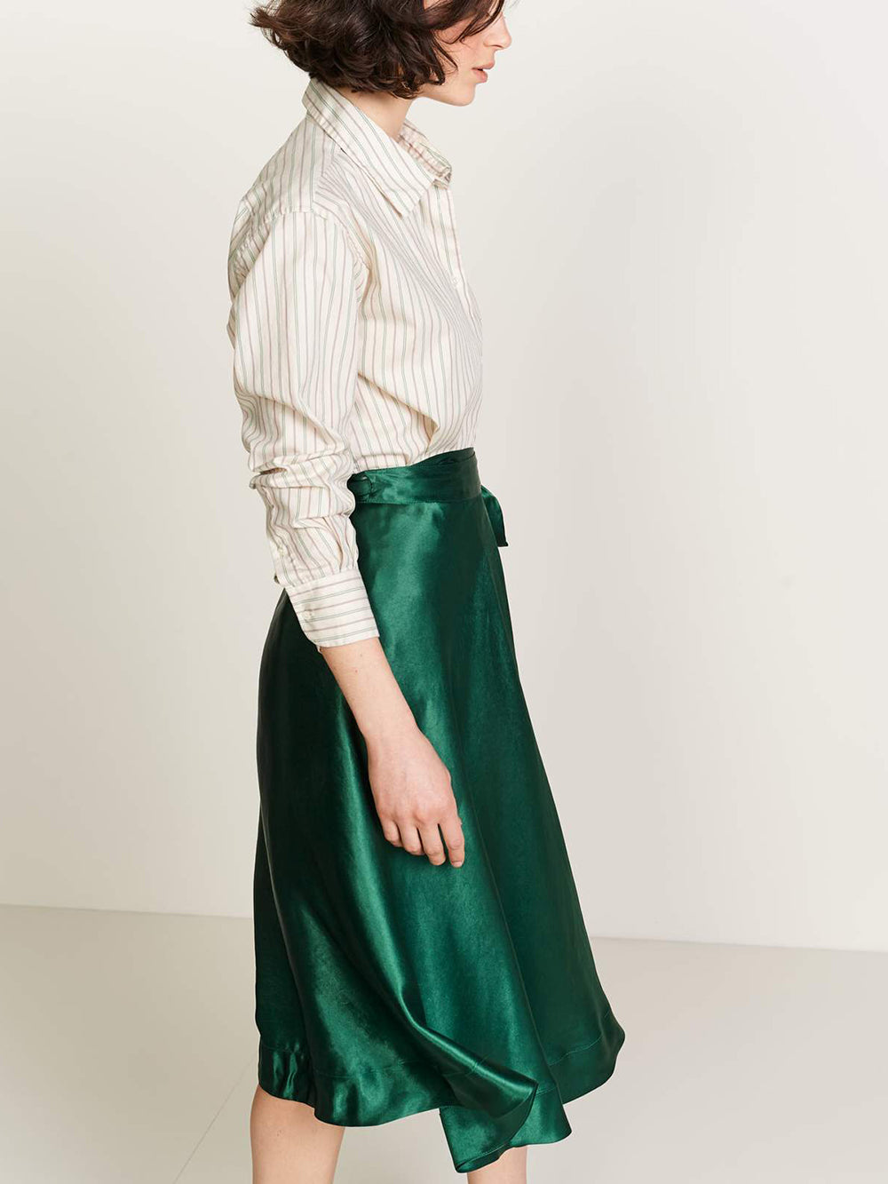 bellerose suez skirt in amazone