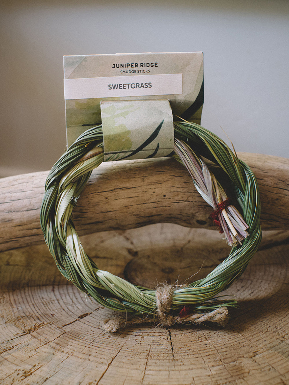 juniper ridge sweetgrass ring