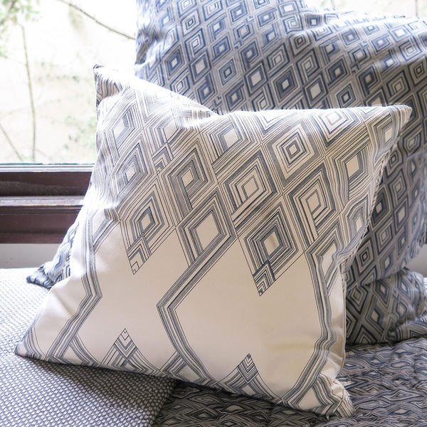 large diamond throw pillow