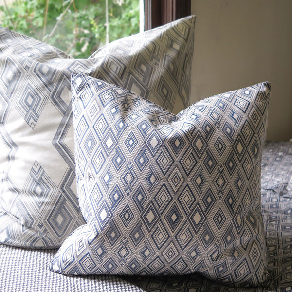 small diamond throw pillow