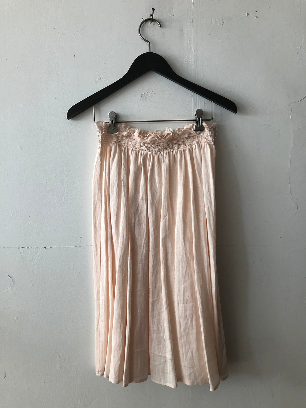 tulum skirt in blush