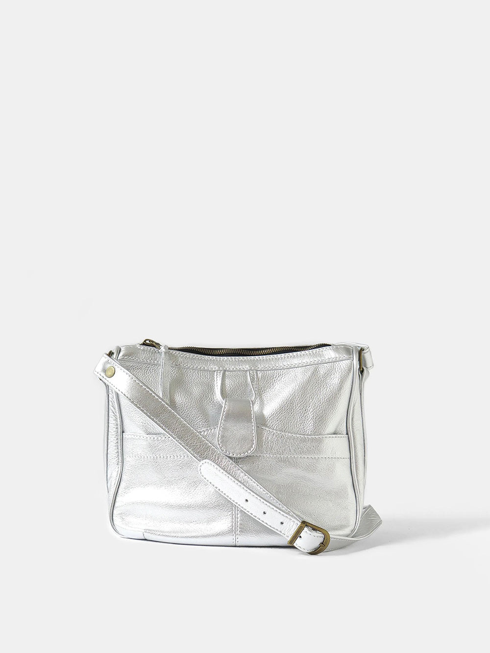 twiggy shoulder bag in silver