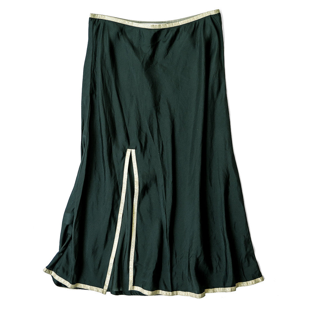 twyla silk skirt slip