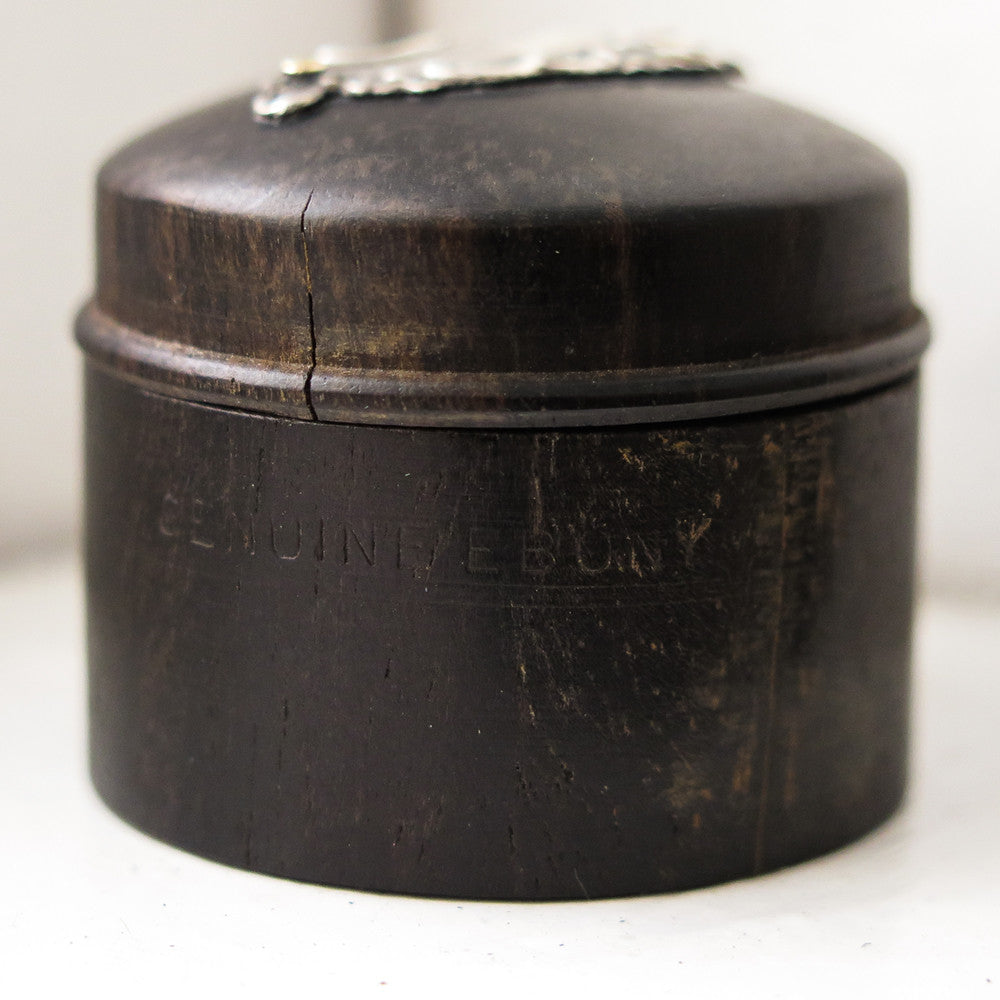 ebony pill box
