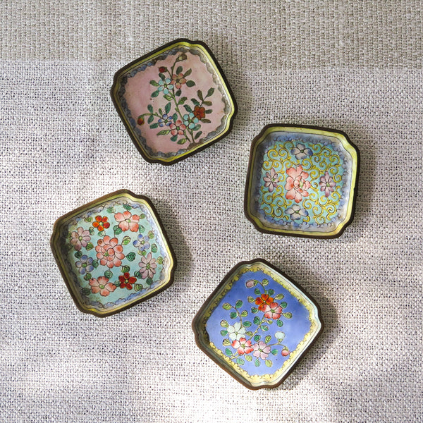 chinese enamel dishes