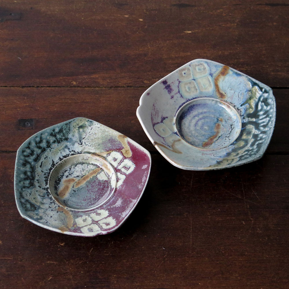 ceramic pentagon dishes