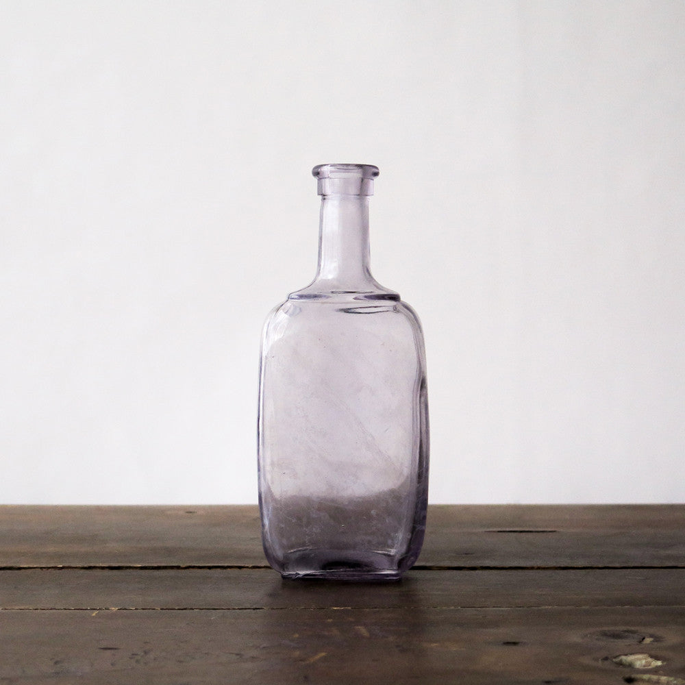 lavender glass bottles