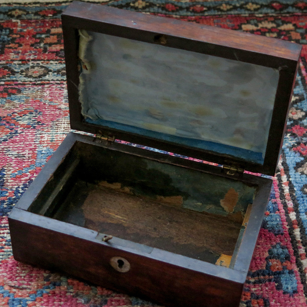 inlaid mother of pearl box
