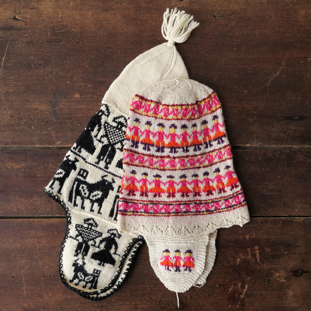 peruvian children's hats