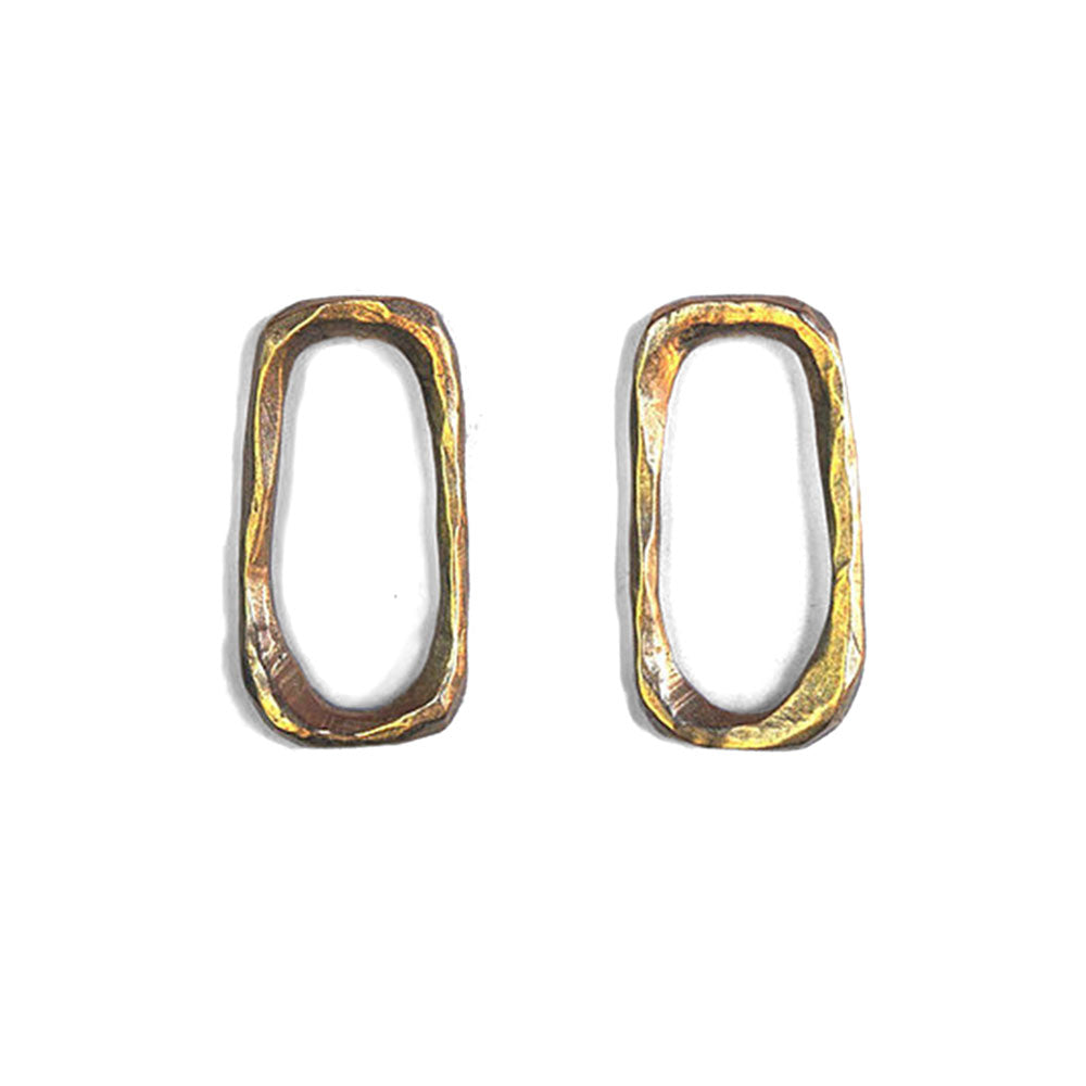 watersandstone large links earrings