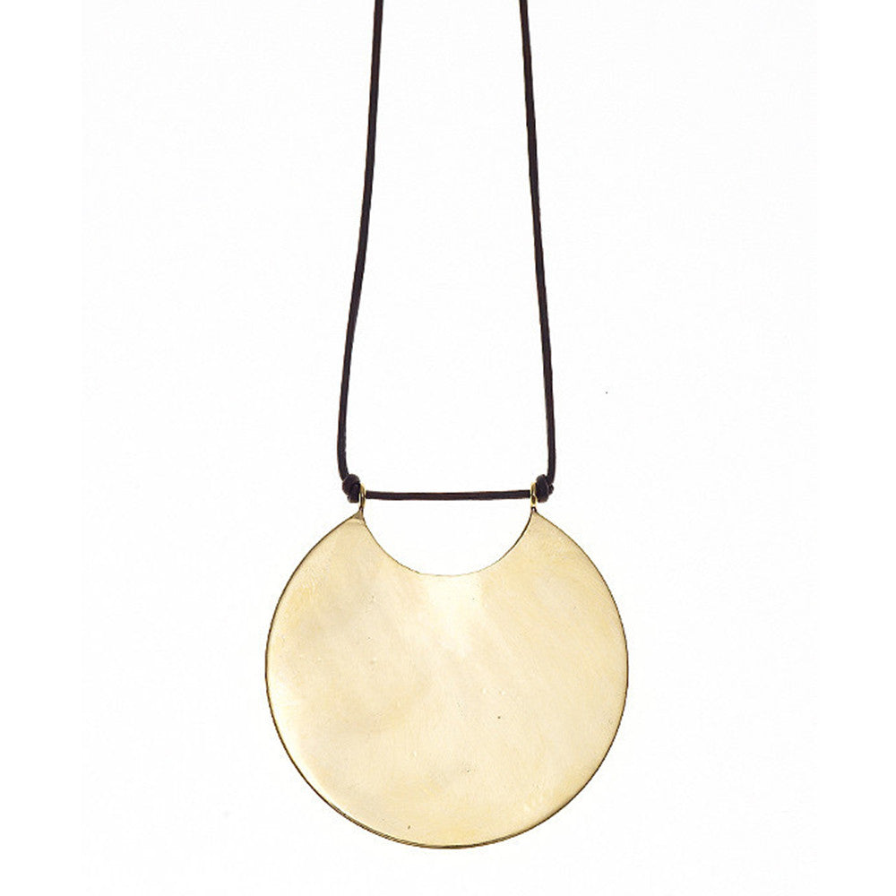 winifred grace disc necklace