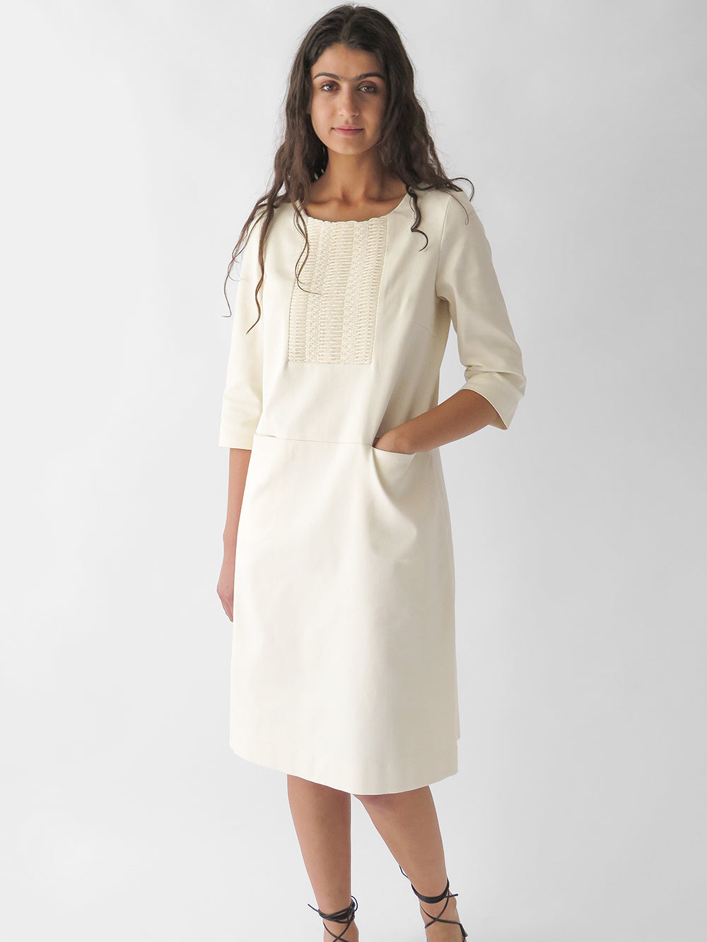 yvette dress in natural