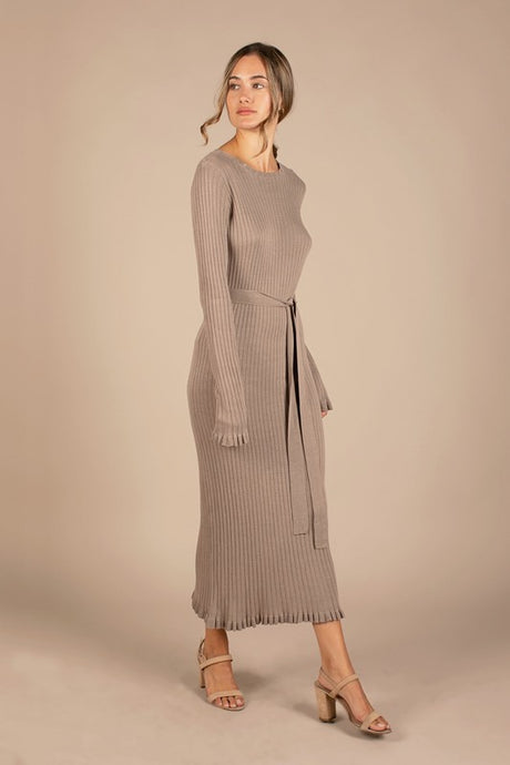Dusty Sweater Dress