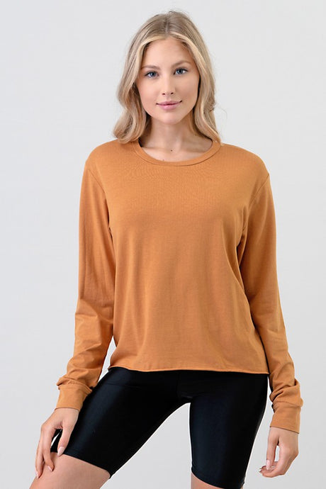 Cut Edge Top, Rust