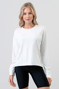 Cut Edge Top,White