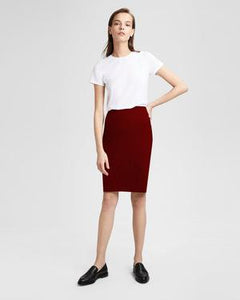 CC Live In Skirt, Burgundy