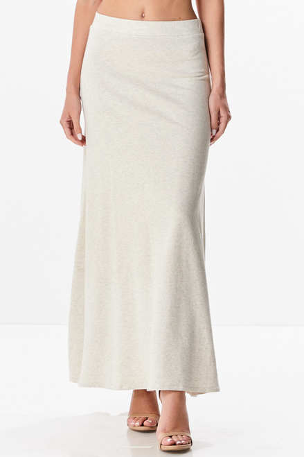 French Terry Maxi Skirt