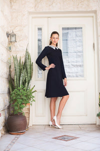 Preppy Collar Dress