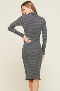 Stripe Mock Dress