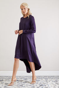 The Zoe Dress, Purple