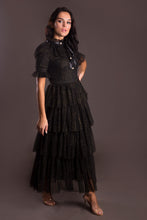 Sparkle Ruffled Maxi