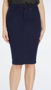 Faithful Denim Pencil Skirt