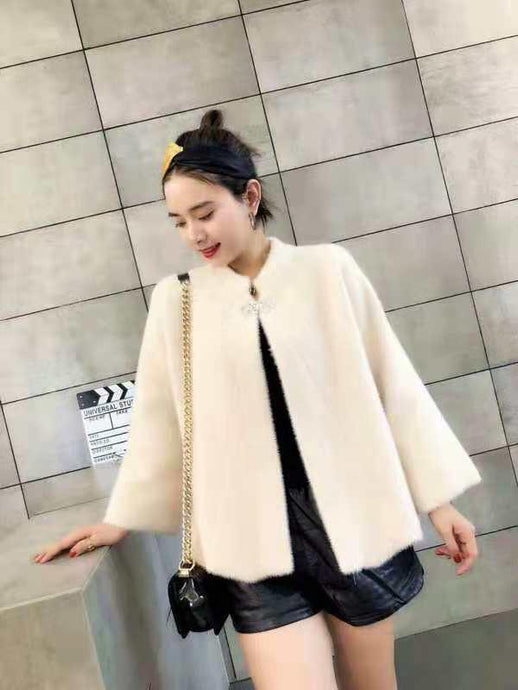 Cream Wool Jacket
