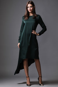 Zoe Dress Hunter Green
