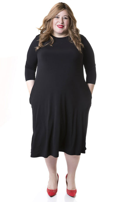 Tammee Dress, Black
