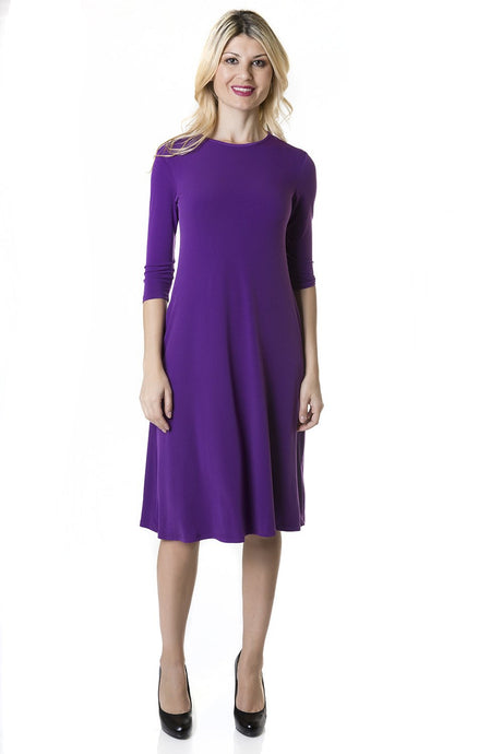 Tammee Dress, Purple
