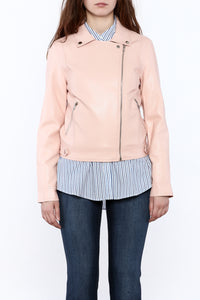 Blush Motorcycle Jacket