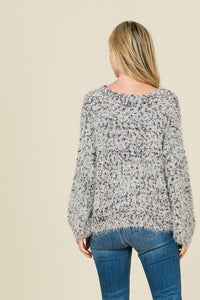 Speckled Marbled Sweater