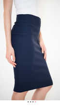Riva Karen Pencil Skirt, Denim