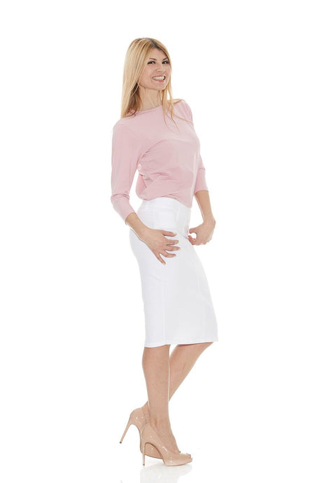 Brooklyn Skirt, White