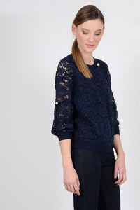 Pearl Lace Top