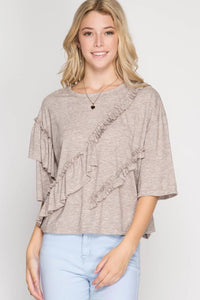Multi Ruffled Top