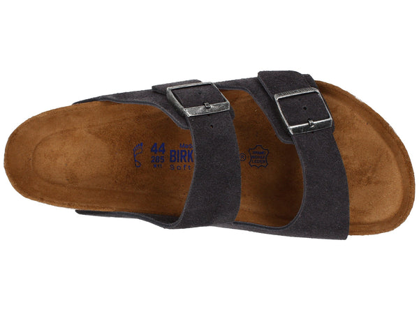 Birkenstock Arizona Soft Footbed (Velvet Grey Suede)