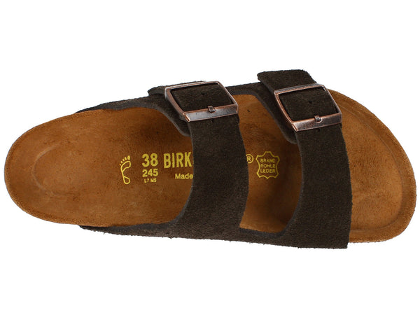 Birkenstock Arizona Soft Footbed (Mocha Suede)